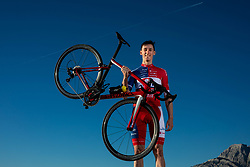 Bostjan Murn during official photo session of Continental Team - Adria Mobil Cycling before new season 2020, on January 30, 2020 in Makarska, Croatia. Photo by Vid Ponikvar / Sportida