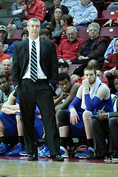 26 February 2014:   during an NCAA Missouri Valley Conference (MVC) mens basketball game between the Indiana State Sycamores and the Illinois State Redbirds  in Redbird Arena, Normal IL.