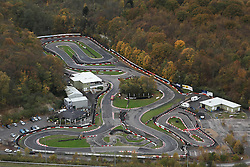 Image ©Licensed to i-Images Picture Agency. Aerial views. United Kingdom.<br /> BUCKMORE PARK CART TRACK, KENT. Picture by i-Images