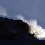 Coronet Peak Snow Making, Queenstown