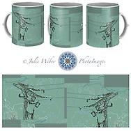 Coffee Mug Showcase 4 - Shop here:  https://2-julie-weber.pixels.com/products/electric-world-julie-weber-coffee-mug.html
