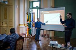 Porto Alegre, RS - 06/04/2020: Apresentação de balanço sobre cenário do Coronavírus em Porto Alegre. Foto: Jefferson Bernardes/PMPA