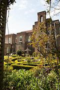 The gardens at Vanbrugh Castle, Greenwich, London, UK CREDIT: Vanessa Berberian for The Wall Street Journal. VANBRUGH
