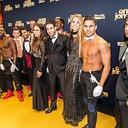 NLD/Amsterdam/20161219 - Filmpremiere Onze Jongens, cast met strippers