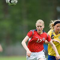 Cecilie B Liane. Norway-Sweden, WU17 Four Nation's Tournament. Eerikkilä, Finland, 25.5.2007. Photo: Jussi Eskola