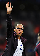 Lianne Sanderson of England Women at the end of the game<br /> - Womens International Football - England vs Germany - Wembley Stadium - London, England - 23rdNovember 2014  - Picture Robin Parker/Sportimage