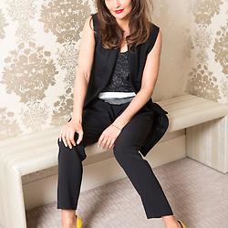 Mcc0053145.DT News. Fenwicks of Bond Street.Helena Christensen launches her SS14 lingerie collection for Triumph