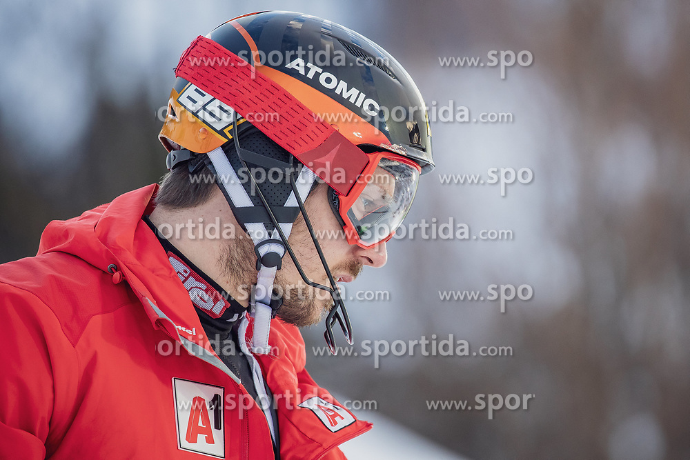 29.01.2019, Planai, Schladming, AUT, FIS Weltcup Ski Alpin, Slalom, Herren, Streckenbesichtigung, im Bild Marcel Hirscher (AUT) // Marcel Hirscher of Austria during course inspection for the men's Slalom of FIS ski alpine world cup at the Planai in Schladming, Austria on 2019/01/29. EXPA Pictures © 2019, PhotoCredit: EXPA/ Dominik Angerer