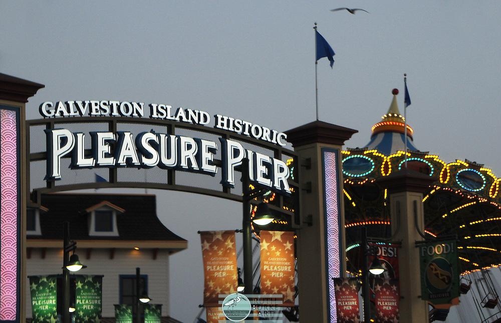 Galveston Island Historic Pleasure Pier is a Pleasure pier in Galveston, Texas, United States. Opened in Summer 2012, it has 1 roller coaster, 15 rides, carnival games and souvenir shops