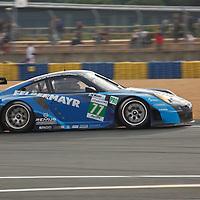 #77 Porsche 911 GT3 RSR (997) taken at Le Mans 2012