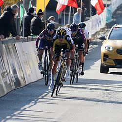 21-03-2021: Wielrennen: Tropheo Alfredo Binda: Cittiglio<br />Marianne Vos pakt tweede plek in Tropheo Binda