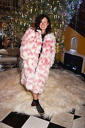 Katie Grand at reception to celebrate the launch of the Claridge's Christmas Tree 2017 at Claridge's Hotel, Brook Street, London England. 28 November 2017.