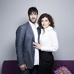 Abel's actor Jose Maria Yazpik and Karina Gidi at the 63rd Cannes Film Festival. France. 14 May 2010. Photo: Antoine Doyen