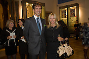 PRINCE PAVLOS OF GREECE; PRINCESS MARIE-CHANTAL OF GREECE, Byzantium 330-1453. Royal academy. Piccadilly. London. 21 October 2008 *** Local Caption *** -DO NOT ARCHIVE-© Copyright Photograph by Dafydd Jones. 248 Clapham Rd. London SW9 0PZ. Tel 0207 820 0771. www.dafjones.com.