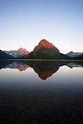 Swift Current Lake in Glacier National Park