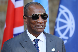 27.05.2017, Taormina, ITA, 43. G7 Gipfel in Taormina, im Bild Abdoulaye Wade, ehemaliger Präsident des Senegal // Abdoulaye Wade, former President of Senegal during the 43rd G7 summit in Taormina, Italy on 2017/05/27. EXPA Pictures © 2017, PhotoCredit: EXPA/ SM<br /> <br /> *****ATTENTION - OUT of GER*****