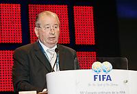 Fotball<br /> FIFA-kongressen i Marrakesch<br /> 12.09.2005<br /> Foto: imago/Digitalsport<br /> NORWAY ONLY<br /> <br /> Julio H. Grondona (Argentinien), FIFA Senior Vize Präsident und Präsident des argentinischen Fußballverbandes AFA, hält während des 55. FIFA Kongresses 2005 in Marrakesch eine Ansprache