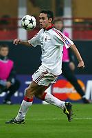 Milano 22/10/2003 Champions League <br />Milan Club Brugge 0-1 <br />Filippo Inzaghi (Milan)<br />Photo Graffiti