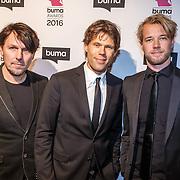 NLD/Hilversum/20160215 - Buma Awards 2016, 3J's