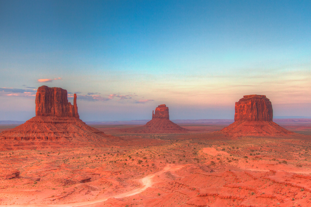 Monument Valley - Navajo National Monument - Sunset