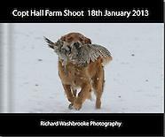 Copt Hall Farm Shoot  18th January 2013