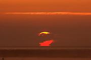 Sunrise, Moray Firth, Inverness-shire, Highland, Scotland, rising sun