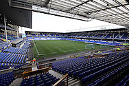 a General view inside the Goodison Park stadium. Barclays Premier League match, Everton v Liverpool at Goodison Park in Liverpool on Sunday 4th October 2015.<br /> pic by Chris Stading, Andrew Orchard sports photography.