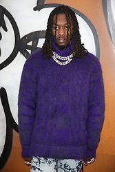 Offset attending the Louis Vuitton Menswear Fall/Winter 2019-2020 show as part of Paris Fashion Week in Paris, France on January 17, 2019. Photo by Jerome Domine/ABACAPRESS.COM