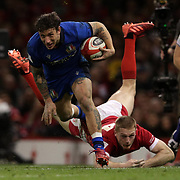 20200201 Rugby, Guinness 6 nations : Galles vs Italia
