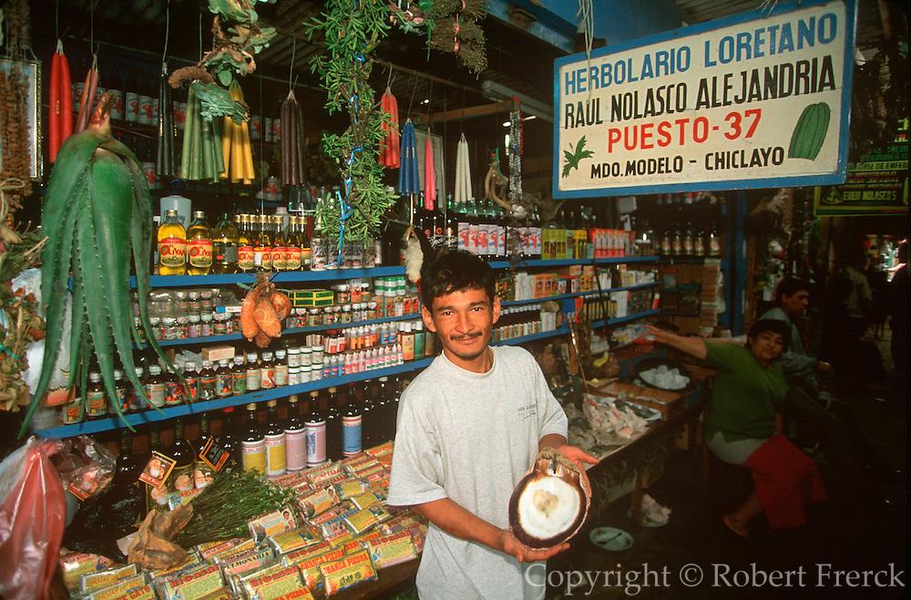 PERU, CHICLAYO Mercado de Brujos; Witch Market