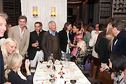 REMY TESSIER; ; LARRY GAGOSIAN; NEVILLE WAKEFIELD; JAY JOPLING; RACHEL BARRETT, Aby Rosen & Samantha Boardman Dinner at Solea,Collins ave,  Miami Beach. 2 December 2010. -DO NOT ARCHIVE-© Copyright Photograph by Dafydd Jones. 248 Clapham Rd. London SW9 0PZ. Tel 0207 820 0771. www.dafjones.com.
