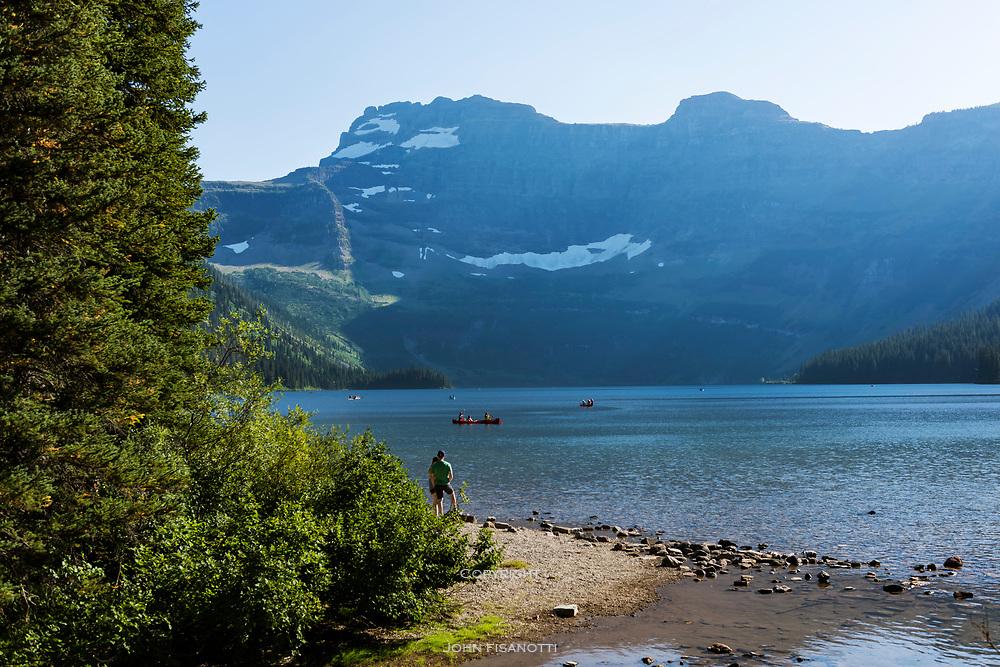 Cameron Lake, Waterton National Park, Canada