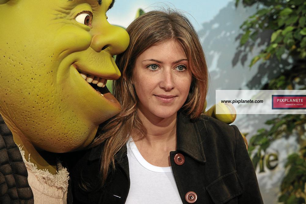 Shrek - Amanda Sthers femme de Patrick Bruel - Avant Première à Paris du troisième volet de Shrek - 7/6/2007 - JSB / PixPlanete