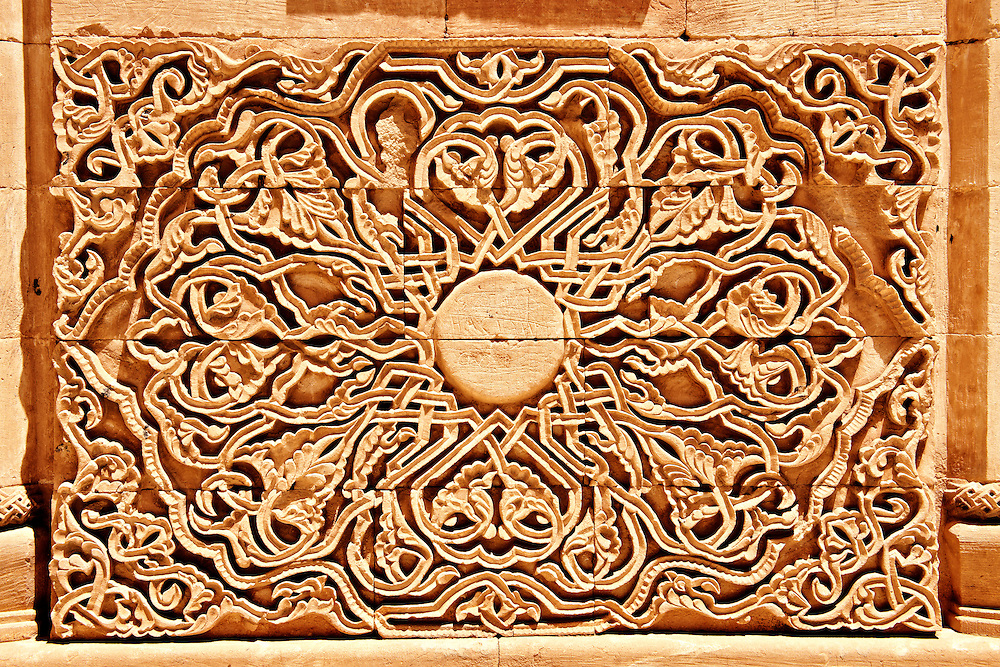 Architectural details of the 18th Century Ottoman architecture of the Ishak Pasha Palace (Turkish: İshak Paşa Sarayı) ,  Ağrı province of eastern Turkey. .<br /> <br /> If you prefer to buy from our ALAMY PHOTO LIBRARY  Collection visit : https://www.alamy.com/portfolio/paul-williams-funkystock/ishak-pasha-palace-turkey.html<br /> <br /> Visit our TURKEY PHOTO COLLECTIONS for more photos to download or buy as wall art prints https://funkystock.photoshelter.com/gallery-collection/3f-Pictures-of-Turkey-Turkey-Photos-Images-Fotos/C0000U.hJWkZxAbg