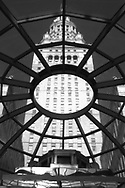 View of Tower City, Terminal Tower form inside Tower City complex, Cleveland,Ohio