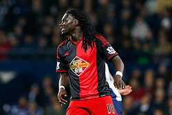 Bafetibis Gomis of Swansea City looks frustrated - Photo mandatory by-line: Rogan Thomson/JMP - 07966 386802 - 11/02/2015 - SPORT - FOOTBALL - West Bromwich, England - The Hawthorns - West Bromwich Albion v Swansea City - Barclays Premier League.