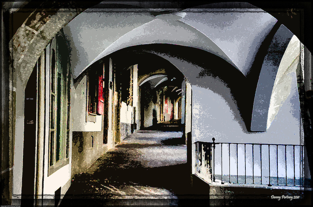 Arches in old city of Bern