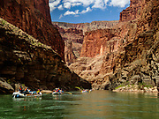 Day 11 of 16 days rafting 226 miles down the Colorado River in Grand Canyon National Park, Arizona, USA.