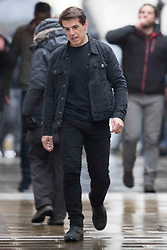 Tom Cruise has a doppelgänger stand in double on the set of Mission Impossible 6 in London. 10 Feb 2018 Pictured: Tom Cruise has a doppelgänger stand in double on the set of Mission Impossible in London. Photo credit: MEGA TheMegaAgency.com +1 888 505 6342