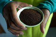 INDONESIA / Java / <br /> <br /> Coffee  production quality control check<br /> <br /> © Daniele Mattioli for  Nespresso Nestle'