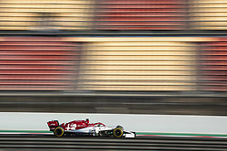 February 20, 2019 - Barcelona, Spain - 07 RAIKKONEN Kimi (fin), Alfa Romeo Racing C38, action during Formula 1 winter tests from February 18 to 21, 2019 at Barcelona, Spain - Photo  /  Motorsports: FIA Formula One World Championship 2019, Test in Barcelona, (Credit Image: © Hoch Zwei via ZUMA Wire)