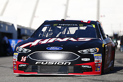 September 23, 2017 - Loudon, New Hampshire, United States of America - September 23, 2017 - Loudon, New Hampshire, USA: Clint Bowyer (14) takes to the track to practice for the ISM Connect 300 at New Hampshire Motor Speedway in Loudon, New Hampshire. (Credit Image: © Justin R. Noe Asp Inc/ASP via ZUMA Wire)