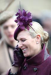 Zara Tindall during Ladies Day of the 2019 Cheltenham Festival at Cheltenham Racecourse.