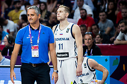 Igor Kokoskov, coach of Slovenia during the Final basketball match between National Teams  Slovenia and Serbia at Day 18 of the FIBA EuroBasket 2017 at Sinan Erdem Dome in Istanbul, Turkey on September 17, 2017. Photo by Vid Ponikvar / Sportida