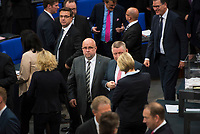 DEU, Deutschland, Germany, Berlin, 24.10.2017: Jürgen Pohl, Alternative für Deutschland (AfD), bei der konstituierenden Sitzung des 19. Deutschen Bundestags mit Wahl des Bundestagspräsidenten.