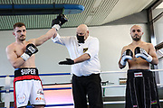 Boxen: Giants Professional Boxing, Session 3, Hamburg, 17.04.2021<br /> Kastriot Sopa (GER) - Bakhtiyar Isgandarzada (AZE)<br /> © Torsten Helmke