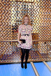 EMELIA FOX at a party to celebrate the opening of the Louis Vuitton Bond Street Maison, New Bond Street, London on 25th May 2010.