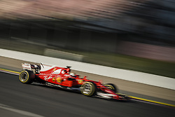 March 7, 2017 - SEBASTIAN VETTEL (GER) drives in his Ferrari SF70H on the track during day 5 of Formula One testing at Circuit de Catalunya (Credit Image: © Matthias Oesterle via ZUMA Wire)
