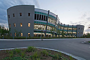 Alaska, Anchorage. University of Alaska Anchorage / Alaska Pacific University Consortium Library. Summer.