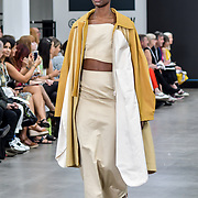 University of Central Lancashire showcases at Graduate Fashion Week 2019, on 2 June 2019, Old Truman Brewery, London, UK.